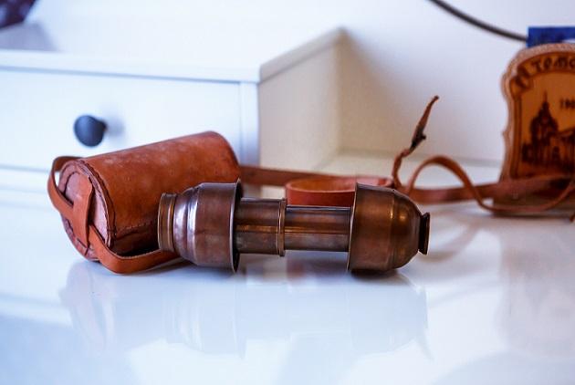 Подзорная труба в старинном стиле, Абажуръ, Томск