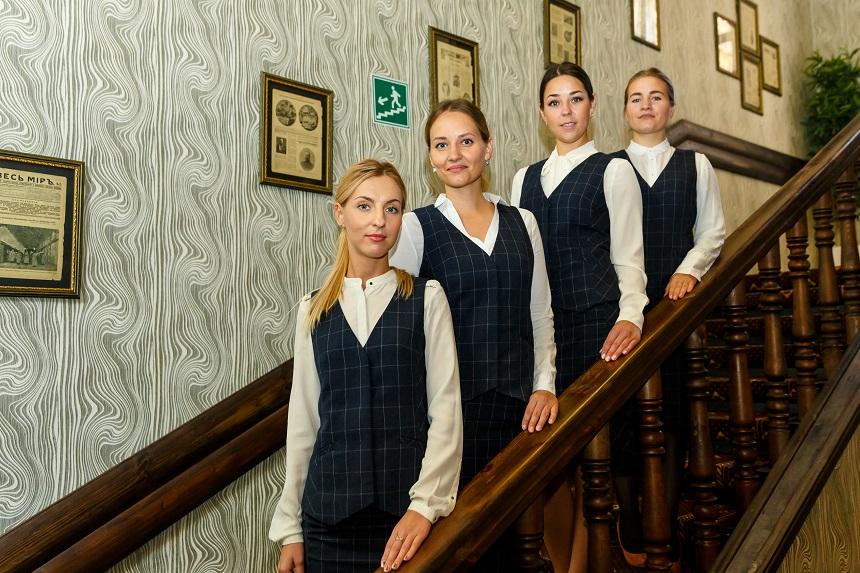 Hotel staff Abazhur, Tomsk