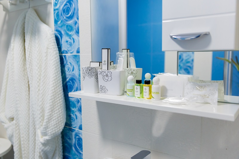 Complete Toiletries in Abazhur Hotel Tomsk