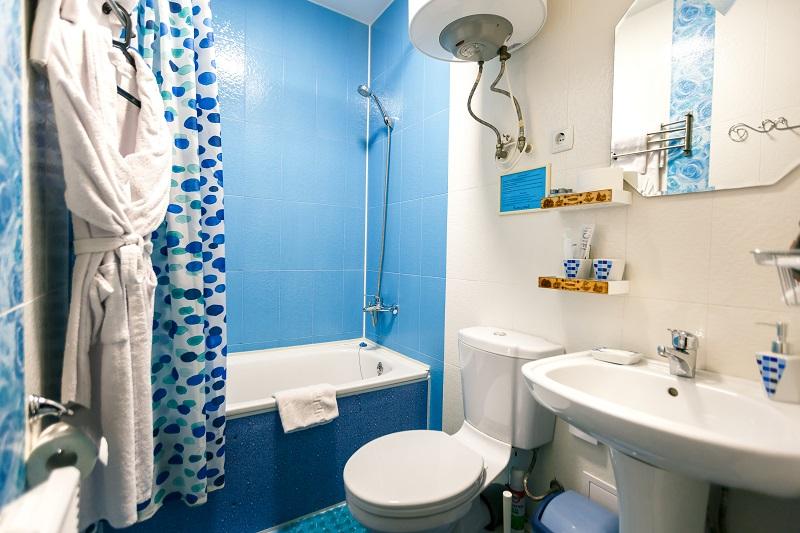 Ванная комната в номере Стандарт